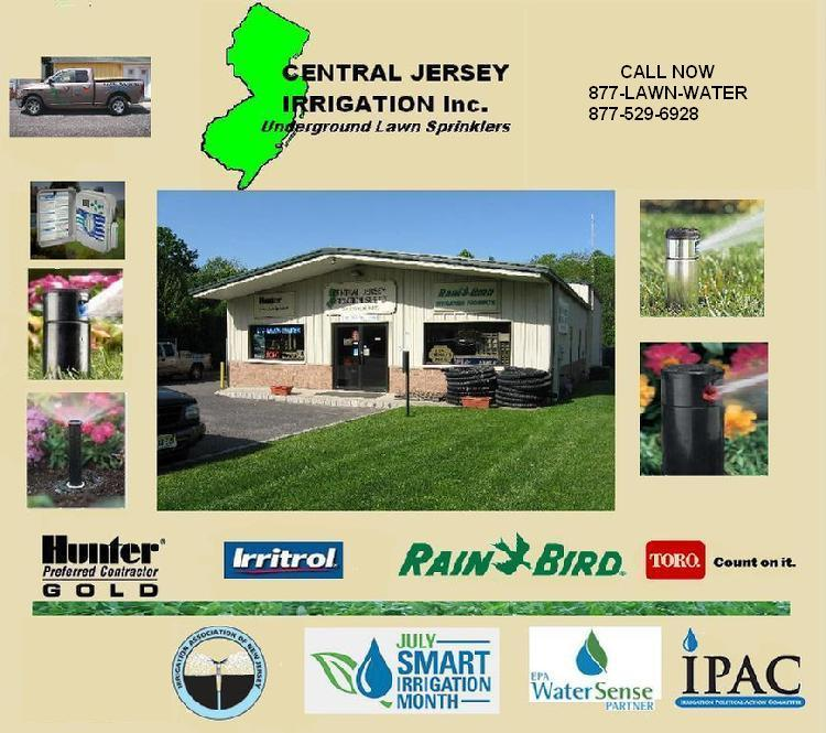 Lawn sprinkler installer in New Jersey Service Parts Repair